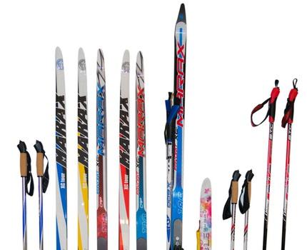 Лыжи, палки, клюшки, чехлы